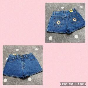 NWT R21 90s Vintage High Rise Shorts Sun/Moon ☀️